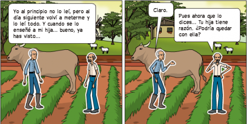 comic de copywriting