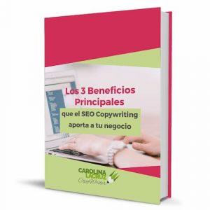 Portada del pdf Los tres beneficios principales del SEO Copywriting